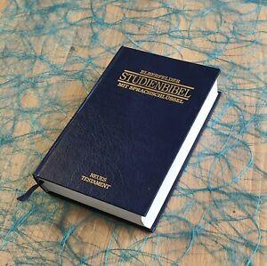 Elberfelder Studienbibel mit Sprachschlüssel neues TestamentISBN 3417257115