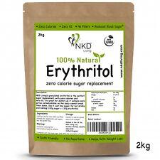 850g Erythritol Natural Granulated Zero Calorie Sweetener (uk BRAND NKD Living)