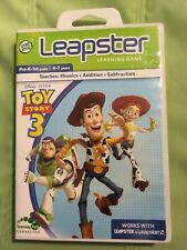Leap Frog Leapster 2 Disney Pixar Toy Story 3 Learning Game Phonics Addition