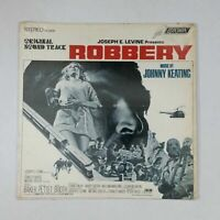 JOHNNY KEATING Robbery MS82008 Bell Sound AudioMatrix LP Vinyl VG+ Cover Shrink