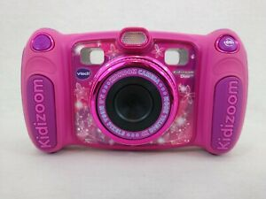 Vtech Kidizoom Duo Pink Kids Digital Camera 5MP 4X Digital Zoom Free Postage