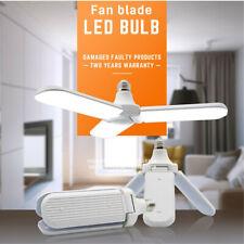 US LED Garage Lights Deformable Workshop Shop Work Home Ceiling Fixture Lamp E27