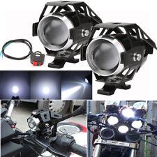 2x Motorrad U5 LED 125W Lampe Licht Zusatzscheinwerfer Scheinwerfer Fernlicht