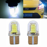 Auto 12V COB Car LED Light Dome Map Lamp T10 194 168 W5W License Plate Bulb
