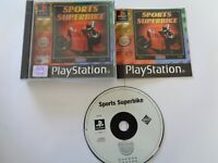 Sports Superbike Playstation 1 PS1 - Complete VGC