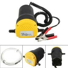 12V 60W Auto Car Portable Electric Fuel Diesel Fluid Oil Extractor Transfer Pump