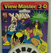 Vintage View-Master Reel Set - X-Men Deadly Reunions - 1097 - Sealed - 1993