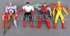 Marvel X-Men Black Tom Ahab Pyro & Kane Action Figure 1993-94 Heroes & Villians