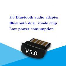 V5.0 Mini USB Bluetooth Adapter Donlge CSR Receiver Windows 10/8/7/XP new