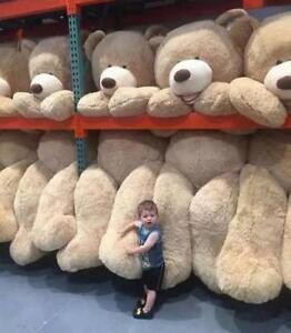 Giant Big USA Teddy Bear Plush Dolls Animal Soft Stuffed Toy Kid's Birthday Gift