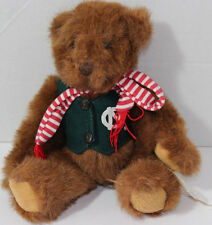 It's All Greek To Me BROWN BEAR WITH NORTH CAROLINA Tarheels VEST Plush NEW NWT