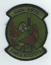 """104th AMXS """"EAGLE KEEPERS"""" OPC patch"""