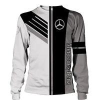 MERCEDES-BEN AMG/MAYBACH/GLA/GLE/GLC-Top Gift- Man's Long Sleeve Shirt 3D-JACKET