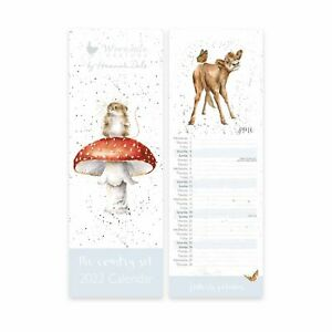 Wrendale Designs The Country Set Slim 2022 Calendar - Home Accessory and Gift