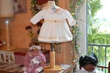 robe neuve armani bebe etiquette 1 mois 145 euros superbe toute doublee M ITALIE