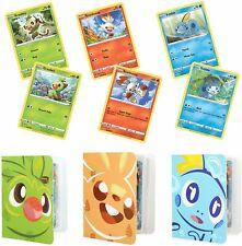Totem World Galar Collection 6 Promo Pokemon Cards Set: Sobble Scorbunny &...