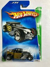 2009 Hot Wheels Treasure Hunt Bone Shaker Card # 50/190  FREE SHIPPING