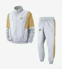 Nike NBA Raptors Courtside 'We The North' Full Tracksuit White Size M AH8834 100