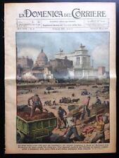La Domenica del Corriere 9 ottobre 1932 Roma Readville Vittorio Emanuele