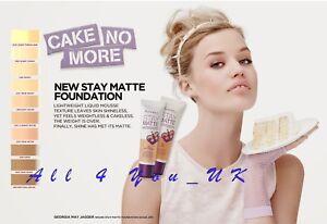 Rimmel Stay Matte Liquid Mousse Foundation 30ml - Please Choose Shade