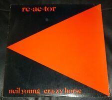 Neil Young Crazy Horse 33Rpm Lp Reactor Rock Pop Classic Reprise 1981