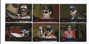1995 Images GOLD PARALLEL Complete 100 card set BV$40! Multiple Earnhardt/Gordon