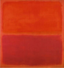 No. 3 1967 by Mark Rothko Abstract Warm Colors Red Print Poster