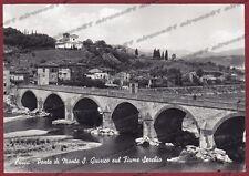 LUCCA CITTÀ 36 PONTE Fiume SERCHIO Cartolina FOTOGRAFICA viaggiata 1961
