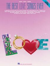 The Best Love Songs Ever 2nd Edition Sheet Music Piano Vocal Guitar So 000359198