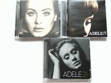 CD ADELE 19 - 21 - 25 - 3 CD BUNDLE Daydreamer, Rumour Has It, I Miss You