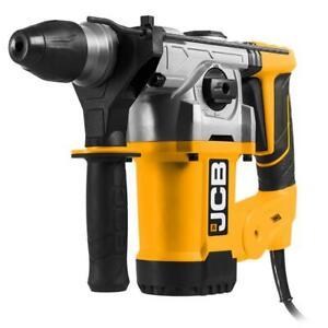 JCB Bohrhammer und Meißelhammer 1250W SDS-plus Kombihammer mit Handwerkerkoffer