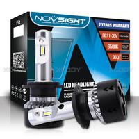 2X Novsight H7 LED Car Headlight Kit Light Lamp 10000LM 70W Fog Bulbs Beam White