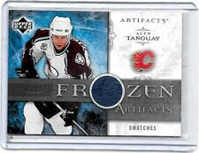 "ALEX TANGUAY 2006-07 UD ARTIFACTS ""FROZEN ARTIFACTS"" GAME USED JERSEY#/50"
