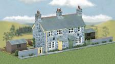 Wills CK21 Craftsmans Kits Semi-detached Stone Cottages Plastic Kit OO Gauge