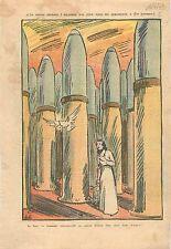 Caricature Politique Colombe la Paix Obus Forêt Acier Rameau d'Olivier WWII 1939