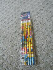 the  LEGO Movie Wooden Pencils *NEW* No. 2 Lot School Supplies