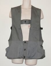 NWT Vintage IDEAL Trap Shooting Vest Hunting Fowl 42 44 L Cotton Poly USA  E554