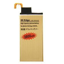 BATTERIA POTENZIATA 3800Mah per SAMSUNG GALAXY S6 EDGE SM-G925F MAGGIORATA GOLD