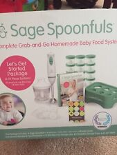 Sage Spoonfuls Homemade Baby food System Let's Get Started Pack