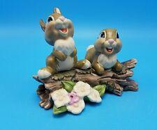 WDCC Walt Disney Thumper Sisters Hello There Rabbit Bambi NIB COA Wheel Retired