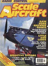RADIO CONTROL SCALE AIRCRAFT MAGAZINE 1994 JAN BRISTOL BROWNIE MKII FREE PLANS