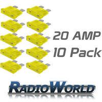 10 20AMP Standard Blade Fuses/Fuse Automotive Van / Car