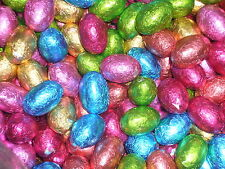 EASTER SWEETS 200G OF SMALL CANDY CHOCOLATE FOIL WRAPPED EASTER EGGS