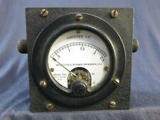 Vintage Gauge Rf Amperes Weston Electrical Model 425 Amperes Rf Gauge Amps Rf