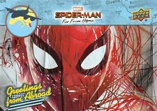 Spider-Man Far From Home Movie GREETINGS FROM ABROAD Trading Card Insert GFA-9