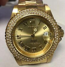 New Ladies Angel Cruiseline Invicta Angel Yellow Gold Tone Limited Edition Watch