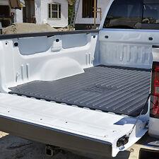 """2007-2018 Silverado Sierra 5' 8"""" Crew Cab Rubber Bed Mat 17803370 w/ GM Logo OEM"""