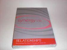 Joyce Meyer Synergy Relationships 1 DVD 2 CD's Book NEW