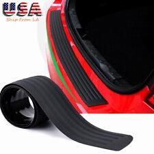 Car Tail box Trunk Sill Plate Bumper Guard Protector Rubber Pad Cover Trim Cover