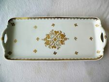 13.5'' X 6'' French Limoge Dual Handle Tray